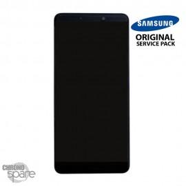 Ecran LCD + Vitre tactile noire Samsung A9 2018 A920F