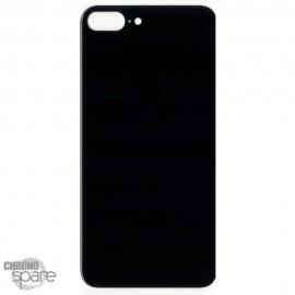 Plaque arrière en verre iPhone 8 plus noir (pour machine laser)
