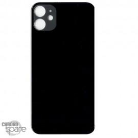Plaque arrière en verre iPhone 11 noir (pour machine laser)