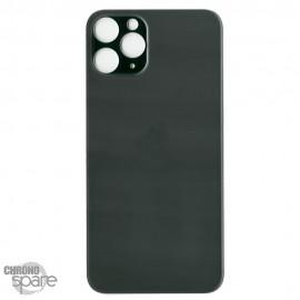 Plaque arrière en verre iPhone 11 PRO vert (pour machine laser)