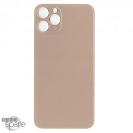 Plaque arrière en verre iPhone 11 PRO or (pour machine laser)
