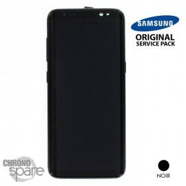 Ecran LCD + Vitre Tactile noire Samsung Galaxy S8 G950F (officiel) GH97-20457A