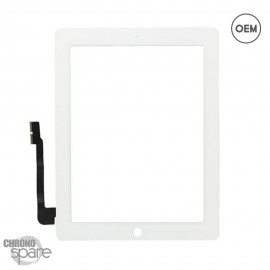 Vitre tactile blanche iPad 3/4 OEM