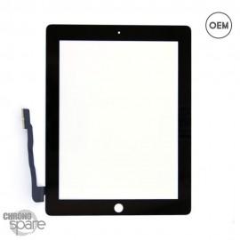 Vitre tactile noire iPad 3/4 OEM