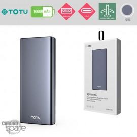 Batterie Externe 10000 mAh gris TOTU