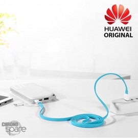 Câble Huawei original 1,5m Type C & Micro USB - Bleu