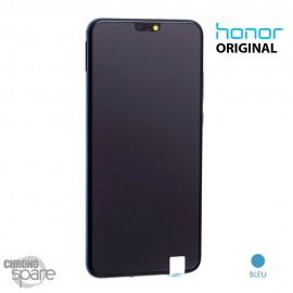 Ecran LCD + Vitre tactile bleue Honor 8X (officiel)
