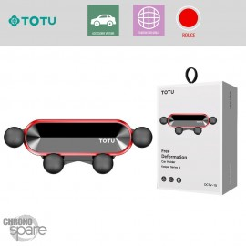Support grille aération rouge TOTU