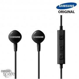 Écouteurs Samsung (originaux) Noir - Prise jack - Blister HS1303