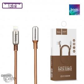 Cable Lightning Hoco U17 Café