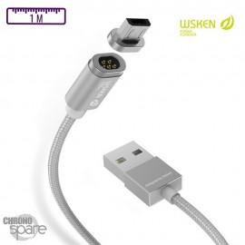 Câble Magnétique Wsken™ X-Cable 2 - Lightning & Micro USB