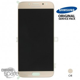 Ecran LCD + Vitre Tactile OR Samsung Galaxy J7 2017 J730F (officiel) GH97-20736C