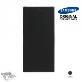 Vitre tactile et écran LCD Samsung Galaxy Note 10 SM-N970 (officiel) Gris