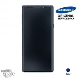 Vitre tactile et écran LCD Samsung Galaxy Note 9 SM-N960 (officiel) Bleu Cobalt