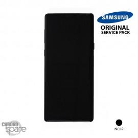 Vitre tactile et écran LCD Samsung Galaxy Note 9 SM-N960 (officiel) Noir