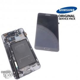 Vitre tactile et écran LCD Samsung Galaxy Note 3 N7505 Gris (officiel) GH97-15540A