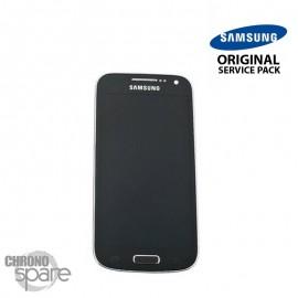 Ecran LCD et Vitre tactile Noire Samsung galaxy S4 Mini Value Edition i9195i (officiel) GH97-16992A