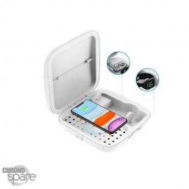 Portable stérilisateur / chargeur sans fil pour portable / apple watch / airbud