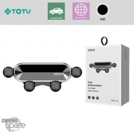 Support grille aération noir TOTU