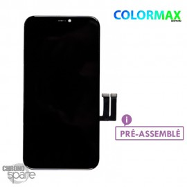 Ecran LCD + vitre tactile iphone 11 Noir (COLORMAX edition)