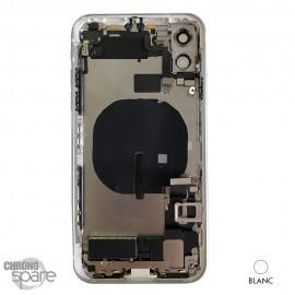 Châssis arrière iPhone 11 blanc- avec nappes