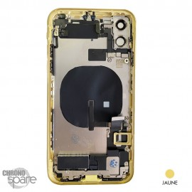 Châssis iPhone 11 jaune- avec nappes