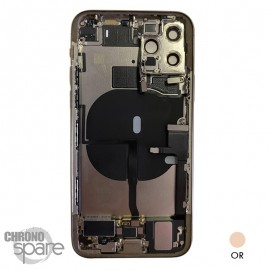 Chassis iPhone 11 pro or - avec nappes