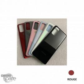 Vitre arrière Samsung Galaxy S20 G980F rouge