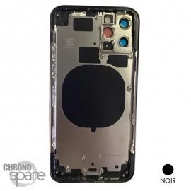 Châssis iPhone 11 pro noir- sans nappes