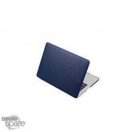 Coque de Protection PU imitation cuir Bleu - MacBook Pro Retina 13.3