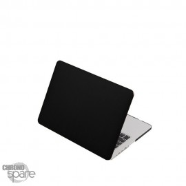 Coque de Protection PU imitation cuir Noire - MacBook Retina 13.3