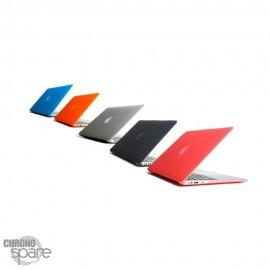Coque de Protection PU transparente Bleue - MacBook Air 13.3