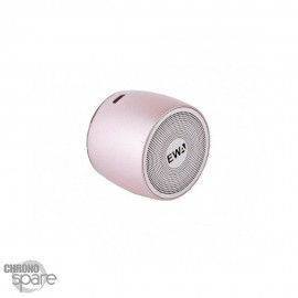Enceinte Bluetooth avec dragonne EWA A103 - Or Rose