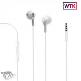 Écouteurs Compatibles Iphone 4/5/6 - Prise jack - sans blister