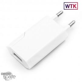 Chargeur secteur Compatible Blanc 5V 1A