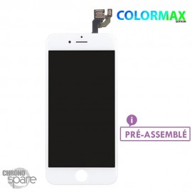 Ecran LCD + vitre tactile iphone 6plus Blanche (colormax)