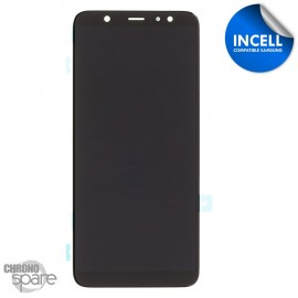 Vitre tactile + Ecran LCD noir Samsung Galaxy A6 Plus 2018 A605F (INCELL)