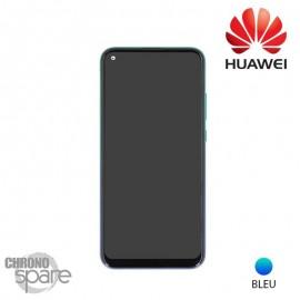 Vitre tactile et écran LCD + batterie Huawei P40 Lite E Bleu (officiel)