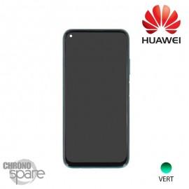 Vitre tactile et écran LCD + batterie Huawei P40 Lite Vert (officiel)