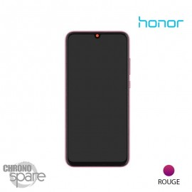 Ecran LCD + Vitre tactile Rouge Honor 20 Lite (officiel)