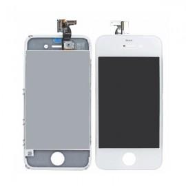 Ecran LCD + vitre tactile iPhone 4S Blanc (toutes versions) Fournisseur T
