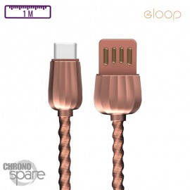 Cable Type C Eloop S43 Rose