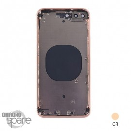 Chassis iphone 8 Plus Or - sans nappes
