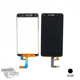 Bloc LCD + Vitre tactile Noir Huawei Y5 II