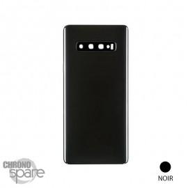Vitre arrière noire Samsung Galaxy S10 Plus
