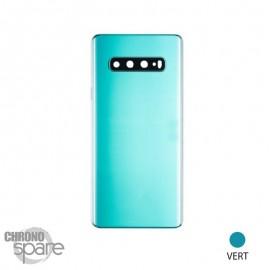 Vitre arrière verte Samsung Galaxy S10 Plus