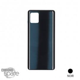 Vitre arrière Samsung Galaxy Note 10 lite noire ( sans lentille camera)