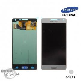 Vitre tactile + écran LCD Samsung Galaxy A500F (officiel) GH97-16679C Argent