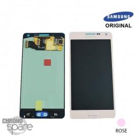 Vitre tactile + Ecran LCD Rose Samsung Galaxy A5 A500F (officiel) GH97-16679E