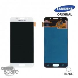 Ecran LCD + Vitre tactile blanche Samsung A3 2016 A310F (officiel) GH97-18249A